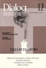 Okładka książki Dialog, nr 12 / grudzień 2006. Tacierzyństwo