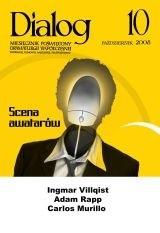 Okładka książki Dialog, nr 10 / październik 2008. Scena awatarów