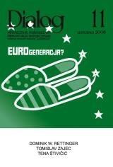 Okładka książki Dialog, nr 11 / listopad 2008. Eurogeneracja