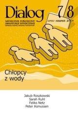 Okładka książki Dialog, nr 7-8 / wakacje 2009. Chłopcy z wody
