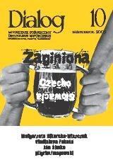 Okładka książki Dialog, nr 10 / październik 2009. Zaginiona Czechosłowacja