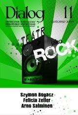 Okładka książki Dialog, nr 11 / listopad 2009. Teatr jako rock