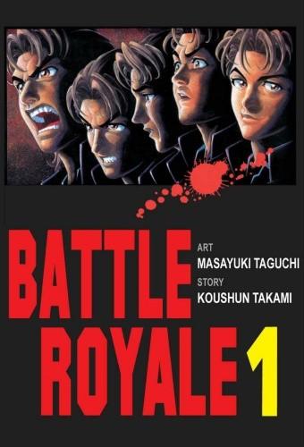 Okładka książki Battle Royale 1