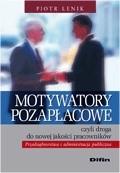 Okładka książki Motywatory pozapłacowe czyli droga do nowej jakości pracowników