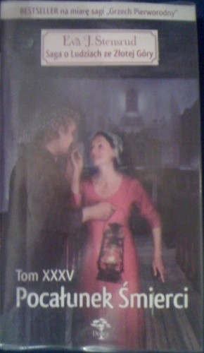Okładka książki Pocałunek śmierci