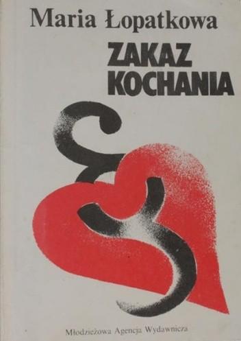 Okładka książki Zakaz kochania