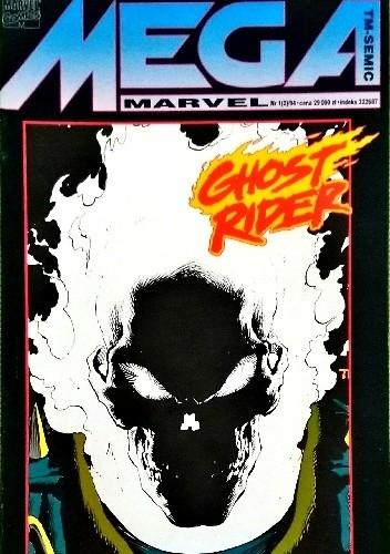 Okładka książki Mega Marvel #02: Ghost Rider - Odrodzenie