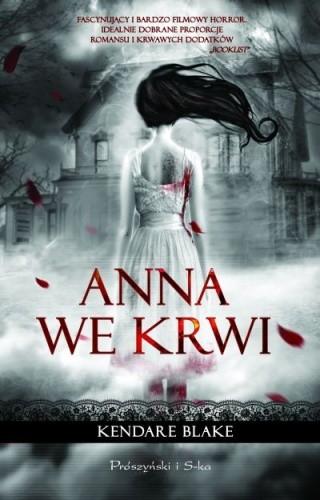 Okładka książki Anna we krwi