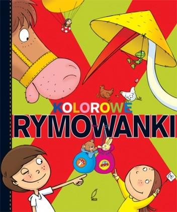 Okładka książki Kolorowe rymowanki