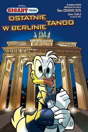 Okładka książki Gigant 11/2011: Ostatnie tango w Berlinie