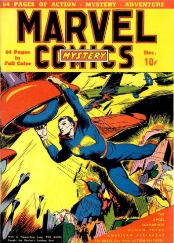 Okładka książki Marvel Mystery Comics #2