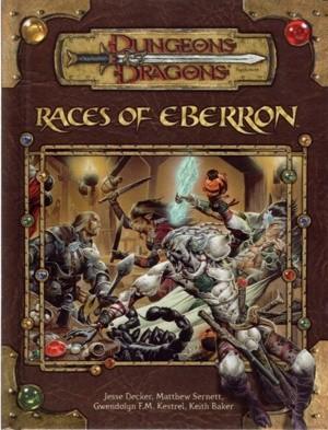 Okładka książki Races of Eberron