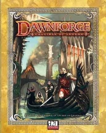 Okładka książki Dawnforge. Crucible of Legend