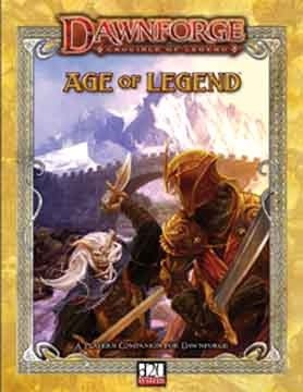 Okładka książki Dawnforge: Age of Legend