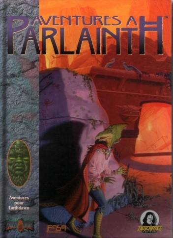 Okładka książki Aventures à Parlainth