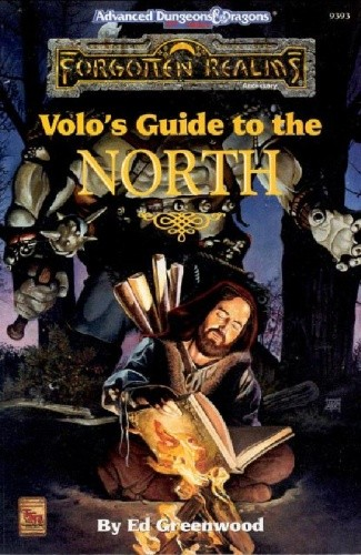 Okładka książki Volo's Guide to the North
