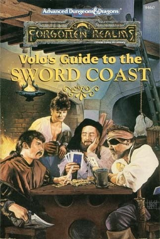 Okładka książki Volo's Guide to the Sword Coast