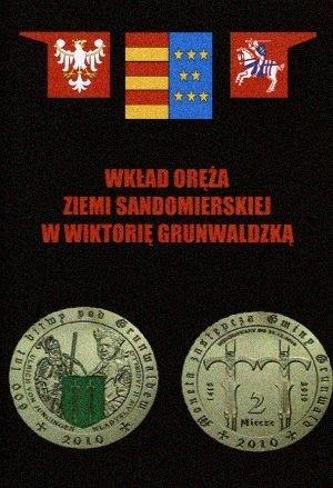 Okładka książki Wkład oręża Ziemi Sandomierskiej w Wiktorię Grunwaldzką