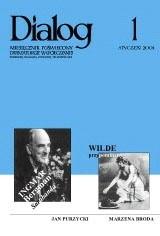 Okładka książki Dialog, nr 1 / styczeń 2004