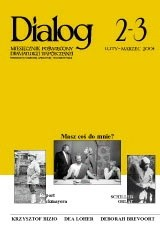 Okładka książki Dialog, nr 2-3 / luty-marzec 2004