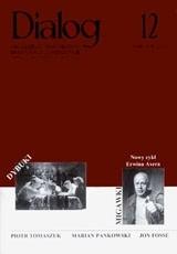 Okładka książki Dialog, nr 12 / grudzień 2003