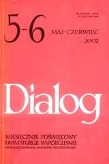 Okładka książki Dialog, nr 5-6 / maj-czerwiec 2002