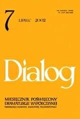 Okładka książki Dialog, nr 7 / lipiec 2002