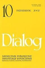 Okładka książki Dialog, nr 10 / październik 2002