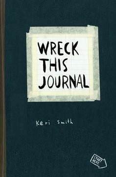 Okładka książki Wreck This Journal