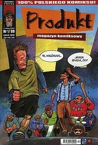 Okładka książki Produkt #1 (1/1999)