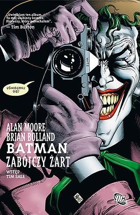 Okładka książki Batman: Zabójczy Żart