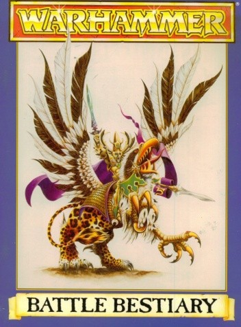 Okładka książki Warhammer Battle Bestiary