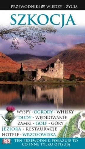 Okładka książki Przewodnik Wiedzy i Życia - Szkocja