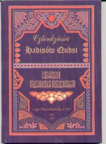 Okładka książki Czterdzieści hadisów Qudsi