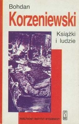 Okładka książki Książki i ludzie