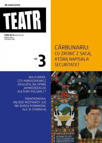 Okładka książki Teatr Nr 3/2012 (1137)