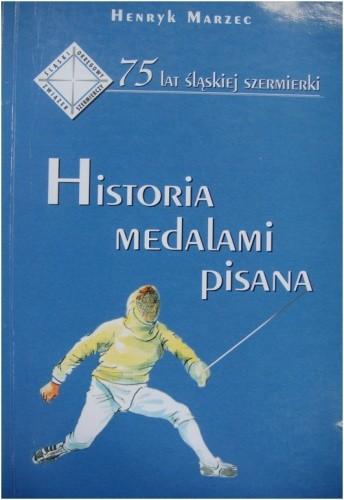 Okładka książki Historia medalami pisana