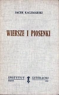 Okładka książki Wiersze i Piosenki