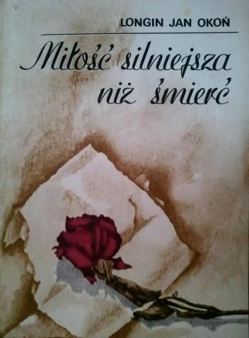 Okładka książki Miłość silniejsza niż śmierć
