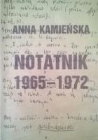 Notatnik 1965-1972
