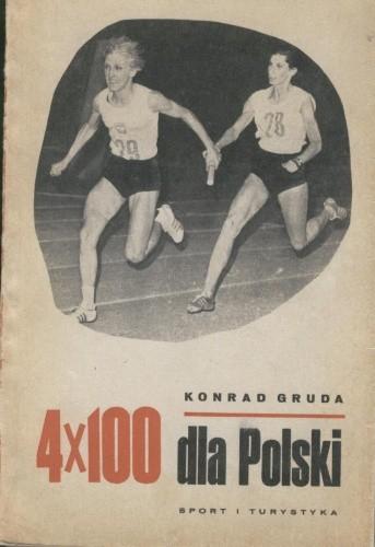 Okładka książki 4x100 dla Polski