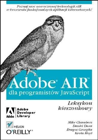 Okładka książki Adobe Air dla programistów JavaScript