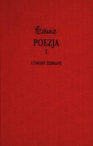 Okładka książki Poezja, cz. 1 - Utwory zebrane, tom VII