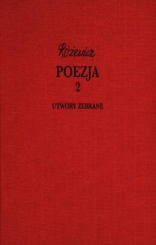 Okładka książki Poezja, cz. 2 - Utwory zebrane, tom VIII