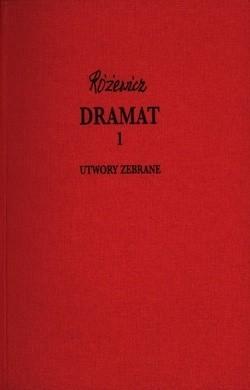 Okładka książki Dramat t.1