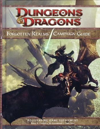 Okładka książki Forgotten Realms Campaign Guide