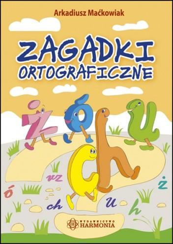 Okładka książki Zagadki ortograficzne