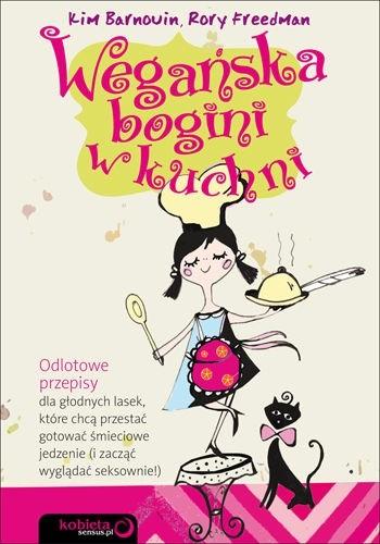 Okładka książki Wegańska bogini w kuchni