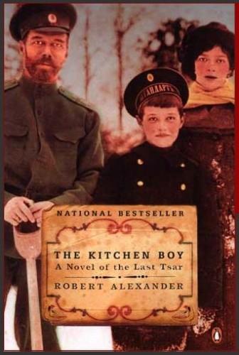 Okładka książki The Kitchen Boy