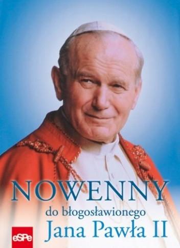 Okładka książki Nowenny do błogosławionego Jana Pawła II